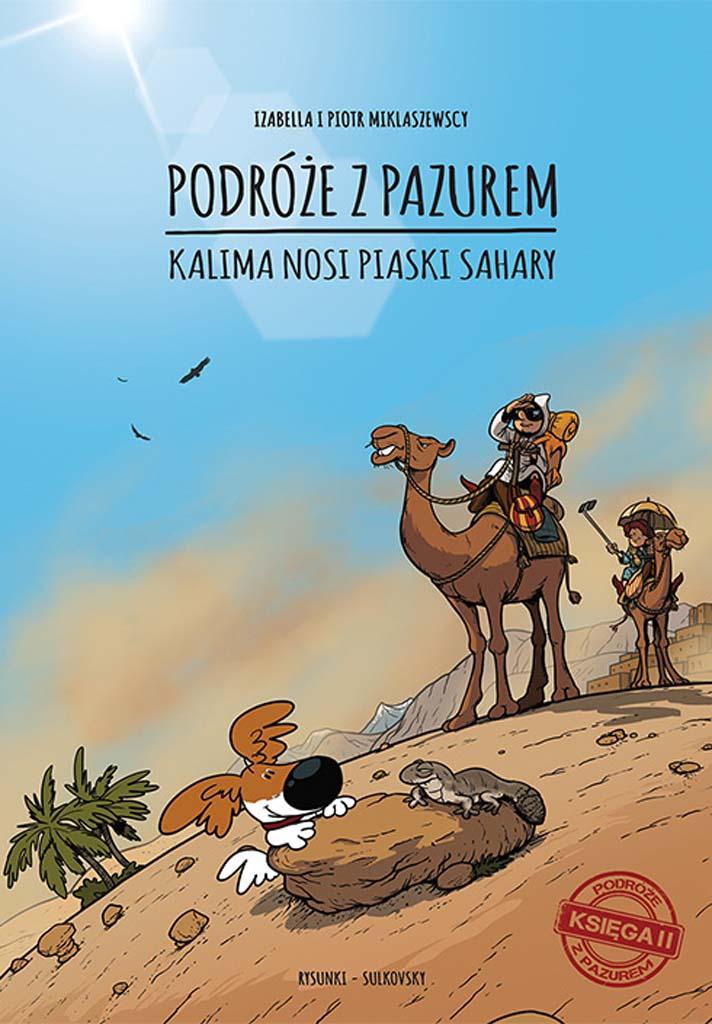Podróże z pazurem. Kalima nosi piaski Sahary
